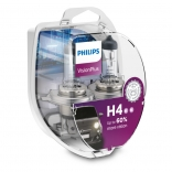 PHILIPS Autospuldze H4 12V 60/55W VISION PLUS +60% 2gb blisteris