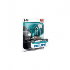 PHILIPS Autolampa H4 12V 60/55W X-treme Vision +100% 2gb blisteris