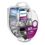 PHILIPS Autospuldze H7 12V 55W Vision Plus +60% 2gb blisteris