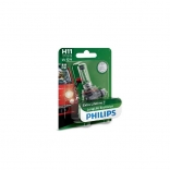 PHILIPS Autolampa H11 12V 55W LONG LIFE ECO 4X blisteris